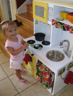 Nap Time Crafters: Toddler Dream Kitchen!