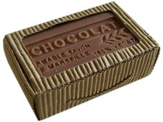 Chocolate French Soap Moisturize with the sweetness of Chocolate. This is a soap to share. Made in France