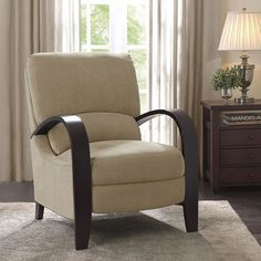 Riverside Sand Recliner - Overstock™ Shopping - Big Discounts on Recliners