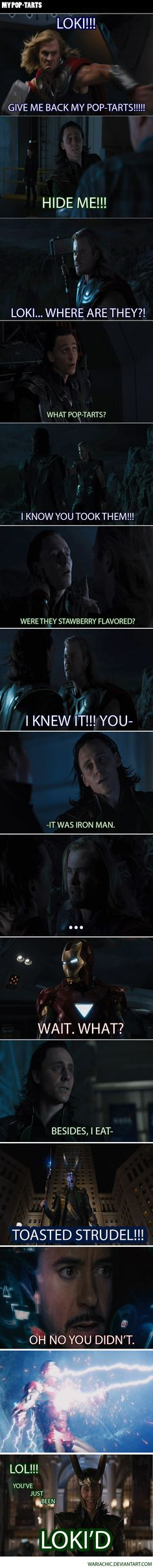 Loki'd!! THIS IS AWESOME!