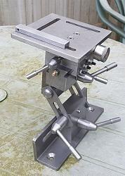 Advanced Grinding Rest - grinding rest built to Harold Halls design