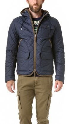 Gant by Michael Bastian The MB Quilted Tracking Jacket - Why don't I have money?!