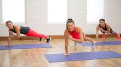 Burn 400 Calories in This 40-Minute Workout | Class FitSugar - YouTube