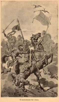 Portuguese knights - battle of Aljubarrota 1385