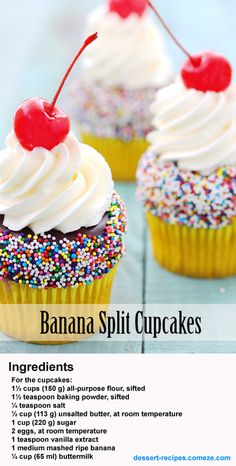 #banana #cupcakes