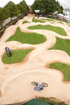 Perfect pump tracks - The Hub - Mountain Biking Forums / Message Boards - Vital MTB Jump Park, Skate Park, Camping And Hiking, Wakeboarding, Mountain Biking, Bmx Bike Parts, Cool Playgrounds, Bicycle Store, Mtb Trails