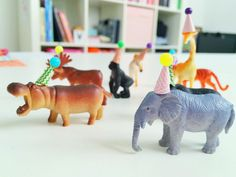 DIY Party Animals (inspired by Oh Happy Day)