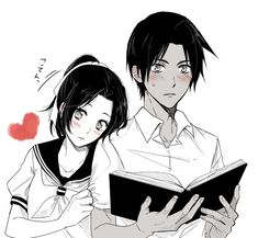 Heiji and Kazuha ♥