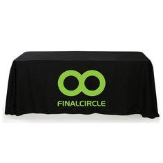 Personalize these custom table covers with your logo for your upcoming event! Free Setup, no min qty.