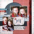 Tamara Jensen - large collection of gorgeous scrapbook layouts