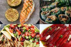Régime méditerranéen : 20 recettes saines et gourmandes Fresh Rolls, Zucchini, Tacos, Cooking Recipes, Vegetables, Healthy, Ethnic Recipes, Poke Bol, Feta