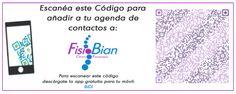 Agregar FisioBian a Contactos - Clínica de Fisioterapia y Osteopatía FisioBian