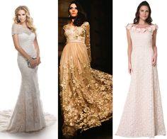 Veja opções de vestidos de noiva para mulheres com mais de 60 anos - UOL Estilo de vida