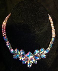 Crystal AB necklace