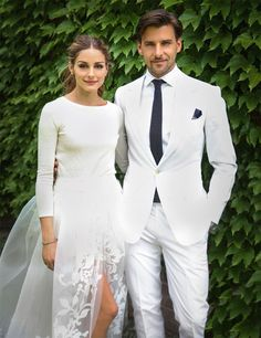 Primera imagen de la boda de Olivia Palermo