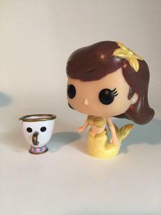 Custom Mermaid Belle Funko Pop from Disney's Beauty and the Beast
