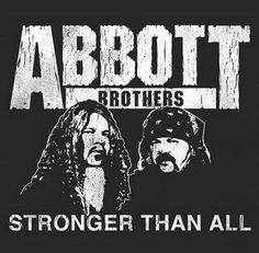 Metal Bands, Rock Bands, Hard Rock, Paul Abbott, Jeff Hanneman, Vinnie Paul, Cowboys From Hell, Dimebag Darrell, Punk Art