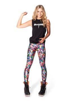 Candy Leggings › Black Milk Clothing