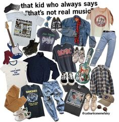 Best Vintage Outfits Part 15 Grunge Outfits, Mode Outfits, Grunge Fashion, 90s Fashion, Fashion Outfits, Black Outfits, Aesthetic Fashion, Aesthetic Clothes, Tomboy Aesthetic