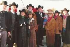 Group Western Costumes, Oregon Trail, Old West, Wild West, 1800s Costumes, Halloween, Men's Costumes, Died of Dysentery, Peperony and chease