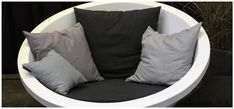 Ral Colours, Outdoor Furniture, Outdoor Decor, Design Trends, Cushions, House Design, Throw Pillows, Pure Products, Chair