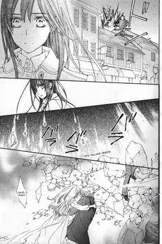Vampire knight Memories cap 12, Yuuki kuran, Akatsuki y Ruka.