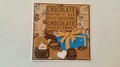 Gemaakt door Hella Coolen : Chocolade