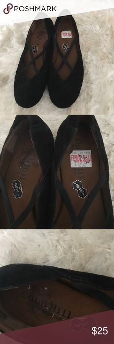 Cobb Hill by Rockport/New Balance suede shoes Cobb Hill. Never worn. Size 7.5 W. comfort shoes. New Balance Shoes Flats & Loafers