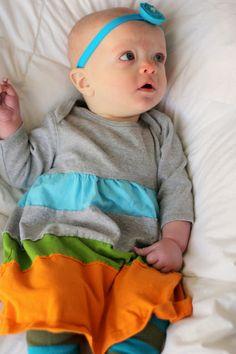 kojotutorial: a pieced jersey matched set (the dress to match the pants)   kojodesigns
