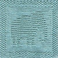 Elephant No. 2 Knit Dishcloth Pattern