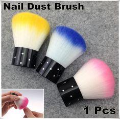 Купить товар1 x красочные ногтей инструменты кисти для акриловые и уф гель ногтей чище пыль + бесплатная доставка ( NR   WS4 ) в категории Кисточки для ногтейна AliExpress.                         Пыль щеткой для ногтей                                               Размер: приложе
