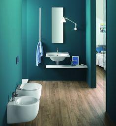 Hatria - Le fiabe 50 - bagno piccolo sanitari dimensioni contenute