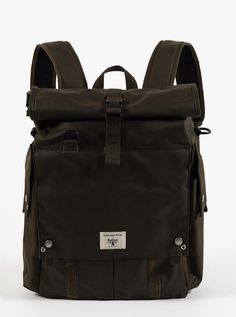 80d5d787b70a5 Universal Works x Barbour Alliance Foldtop Backpack