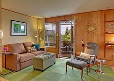 Seattle midcentury apartment rental starting at $95/night!