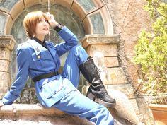 Hetalia cosplay: Italy by ~janikol on deviantART