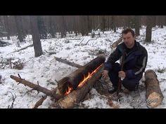 Если зимой сломался на трассе и рядом есть лес…