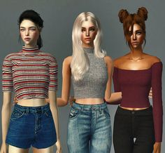 Always Sims: Varied Tops - AF