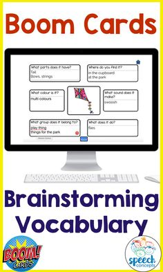 Use the power of mind maps to brainstorm features of vocabulary words  Vocabulary size is the most important factor impacting on the ability for school-age children to learn new information. It is important that our vocabulary is well connected. Mind maps are a great way to visualize how words are connected.