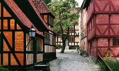 Open-air museum Den Gamle By