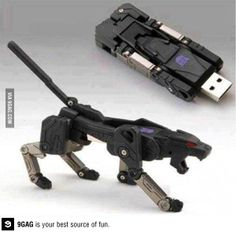 Transformers flash drive....holy crap yes.