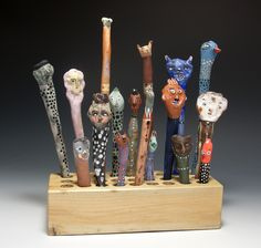 Jenny Mendes - love the whimsy & color of these!