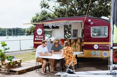 Studio 106 Architects, NZ, Mobile office. Converted caravan.