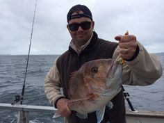 Orange is a good colour in the spring to catch big snapper