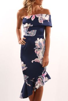 Margot Dress Navy