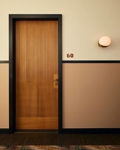 """Soho House Amsterdam"" by Linda Boronka Door Design Interior, Main Door Design, Modern Interior, Home Design, Modern Door Design, Garage Design, Design Hotel, Interior Doors, Design Art"