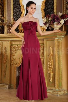 Satin Strapless Sweet Evening Dresses - Order Link: http://www.theweddingdresses.com/satin-strapless-sweet-evening-dresses-twdn4316.html - Embellishments: Beading; Length: Floor Length; Fabric: Satin; Waist: Natural - Price: 152.42USD