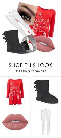 """""""swagg"""" by vicky1234567 ❤ liked on Polyvore featuring UGG, Lime Crime and rag & bone"""