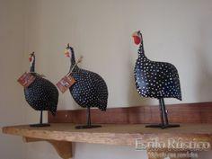 galinha da angola feita de pinha - Pesquisa Google