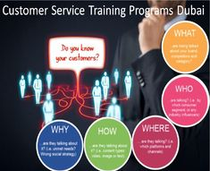 We focus on effective training programs that would result in superior quality customer service. Customer service skills training aims at proper refined and systematic training in reference to day to day situations and proper handling techniques. Skill Training, Training Courses, Training Programs, Customer Service Training, Service Program, Dubai, Superior Quality, Searching, Trainers