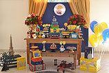 Decoração de Mesa e doces personalizados no tema Pequeno Principe.